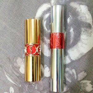 NWOT YSL Lipstick and Liquid Color Balm